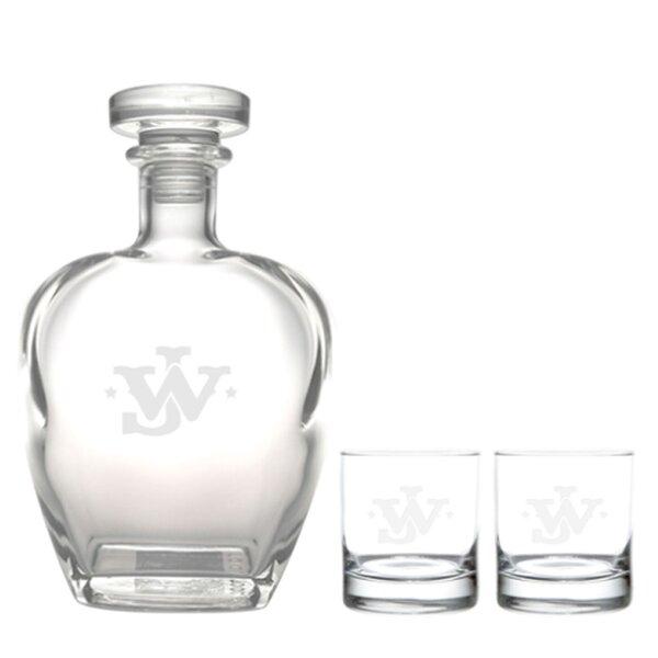 John Wayne 3-Piece Drinkware set by Rolf Glass