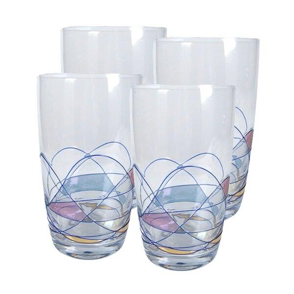 Helios Highball Glass (Set of 4) by Artland