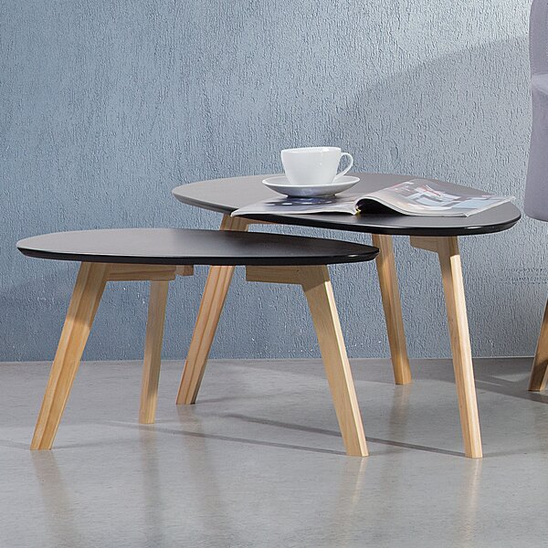 Fly II 2 Piece Nest of Tables by Home Loft Concepts