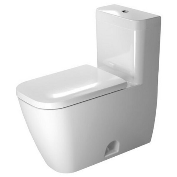 Happy D.2 Dual Flush Elongated One-Piece Toilet by Duravit