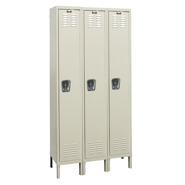 Premium 1 Tier 3 Wide School Locker by Hallowell