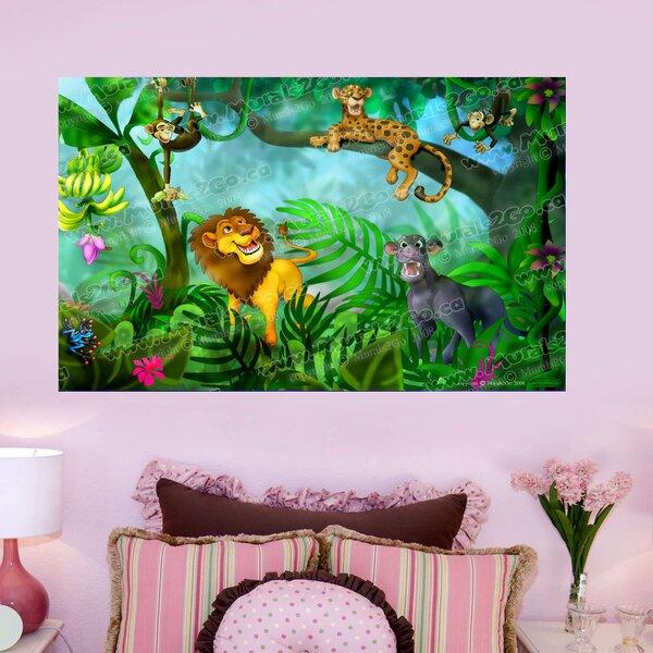 Jungle Cats Wall Mural by Wallhogs