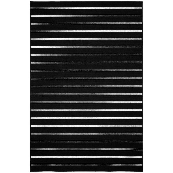 Dellbrook Black Area Rug by Bay Isle Home