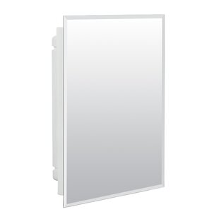 Great choice Lamberson 16.18 x 22.25 Grey Recessed Medicine Cabinet ByWinston Porter