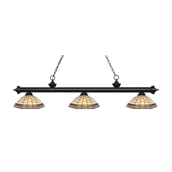 Billington 3-Light Billiard Light by Fleur De Lis Living