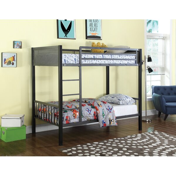 West Stockbridge Twin Over Twin Bunk Configuration Bed with Ladder by Zoomie Kids