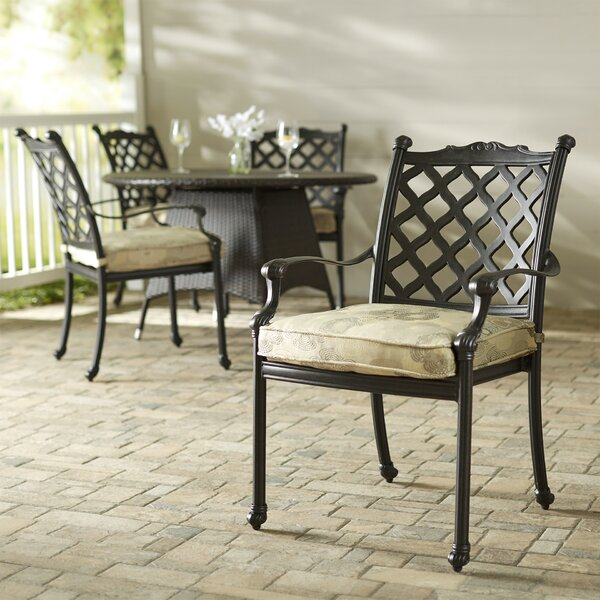 Kipling Patio Dining Chair With Cushion (Set Of 4) By Darby Home Co