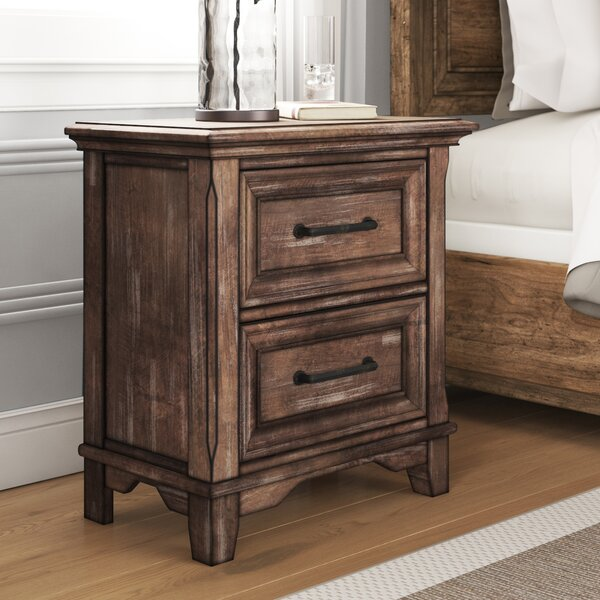 Mcmillin 2 Drawer Nightstand by Gracie Oaks