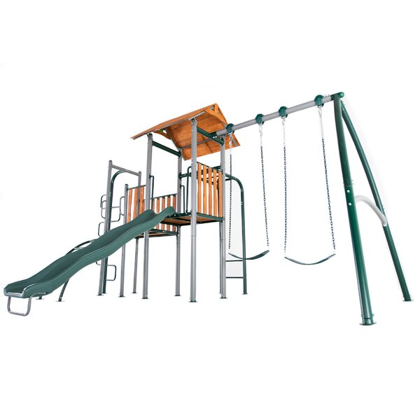 Big Ridge Heavy Duty Metal Swing Set by Sportspowe