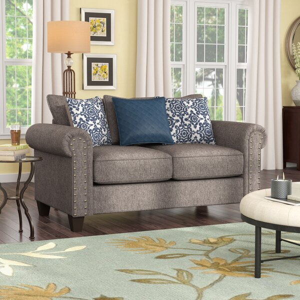 Special Recommended Delbert Loveseat by Simmons Upholstery by Alcott Hill by Alcott Hill