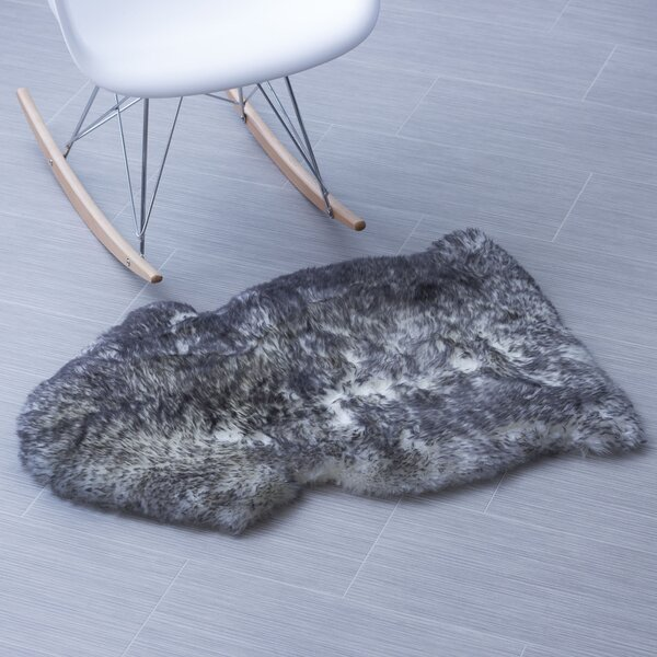 Handmade Gray Area Rug by Super Area Rugs