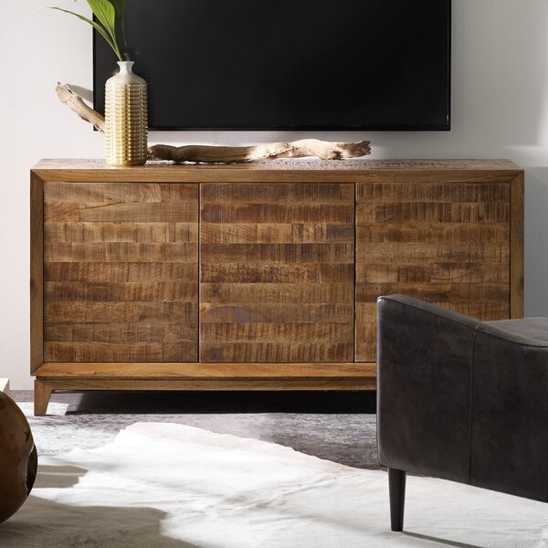 Arnav Solid Wood TV Stand For TVs Up To 70