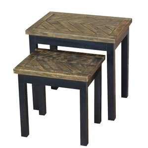 Wovenwood 2 Piece Nesting Tables by Gallerie Decor
