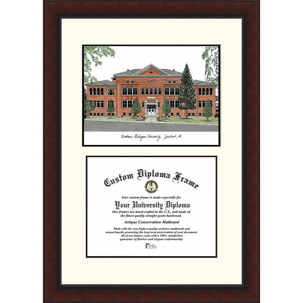 NCAA Eastern Michigan University Legacy Scholar Diploma Picture Frame by Campus Images