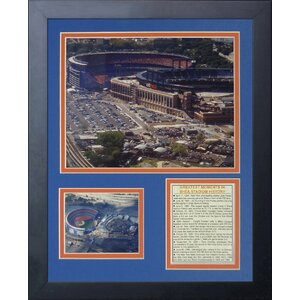 Shea Stadium and Citi Field Framed Memorabilia by Legends Never Die