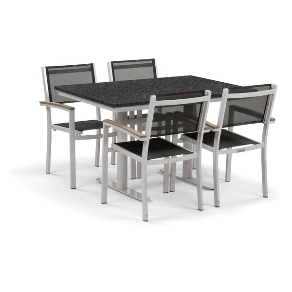 Rosenfeld 5 Piece Dining Set by Sol 72 Outdoor