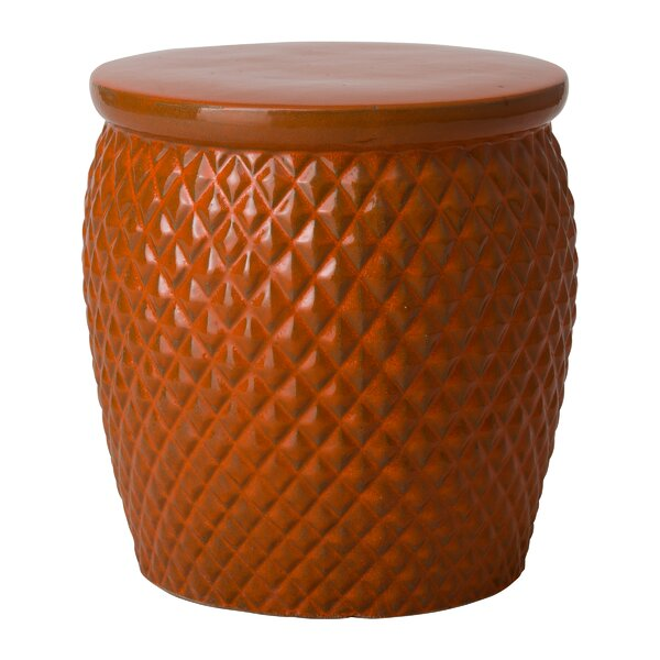 Kulik Pineapple Garden Stool by Bayou Breeze