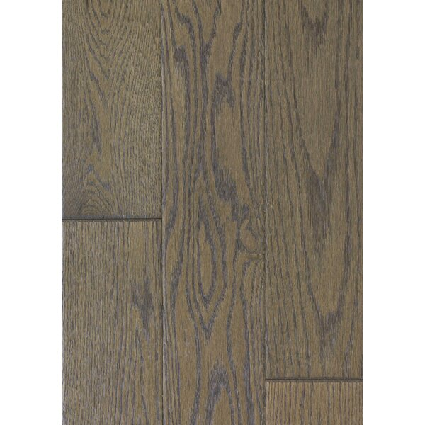 5 Engineered Oak Hardwood Flooring in Brushed Milk Chocolate by Maritime Hardwood Floors