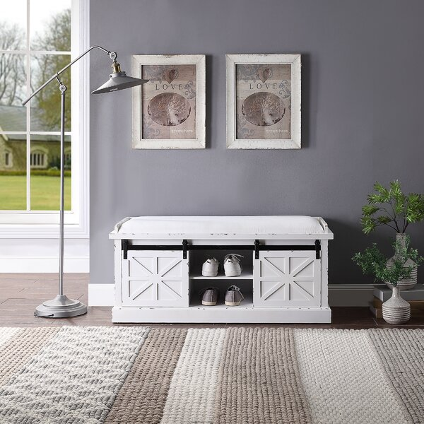 Doroteia Storage Bench by Gracie Oaks Gracie Oaks