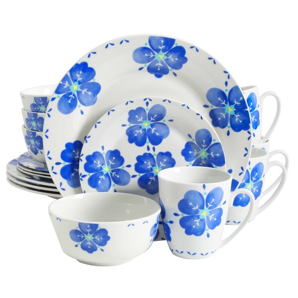 Yves Classic 16 Piece Dinnerware Set, Service for 4 by Winston Porter