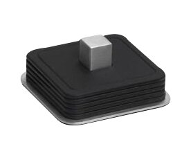 Trayan 7 Piece Square Coaster Set by Blomus