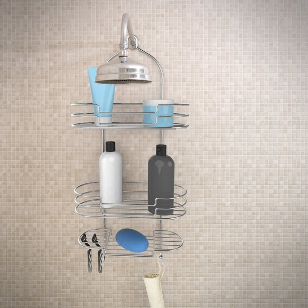 Tall Shower Caddy by Rebrilliant