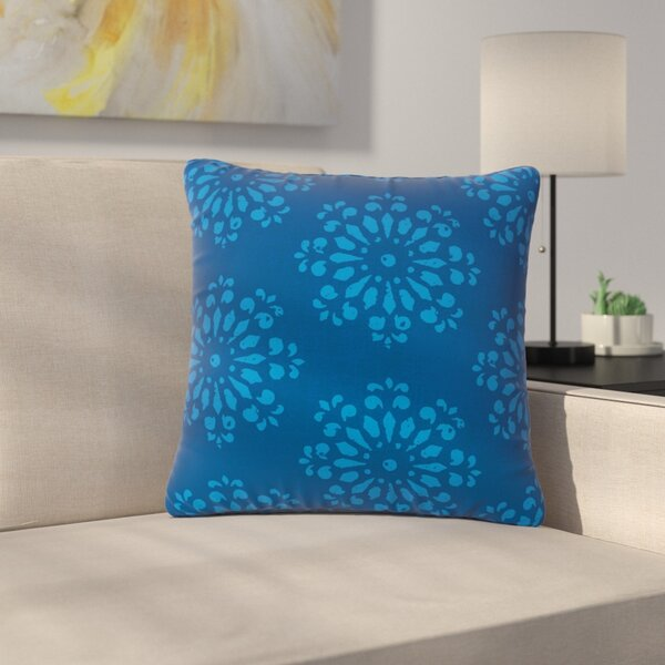 Gukuuki Taylor Damask Outdoor Throw Pillow by East Urban Home