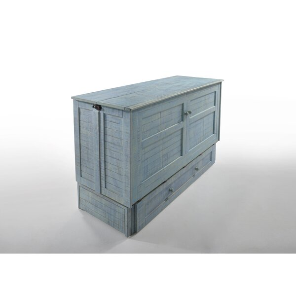 Mathews Queen Storage Murphy Bed With Mattress By Breakwater Bay