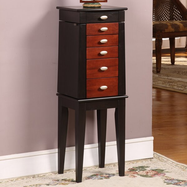 Sumba Yang Jewelry Armoire with Mirror by Wildon Home ®