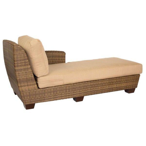 Saddleback Chaise Lounge with Cushion