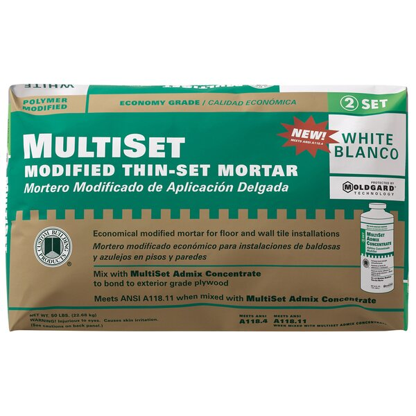 MultiSet Modified Thin-Set Mortar by Custom Building Products