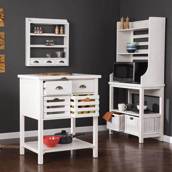 Eichelberger Kitchen Island Set by Breakwater Bay