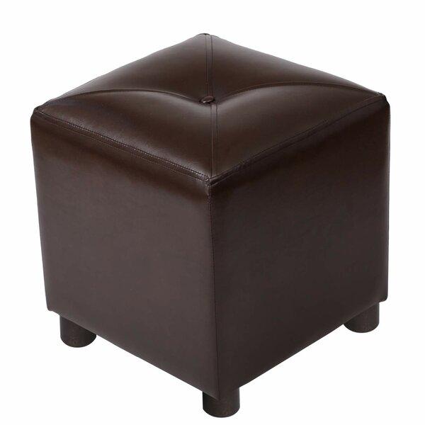 Reta Square Tufted Cube Ottoman by Winston Porter