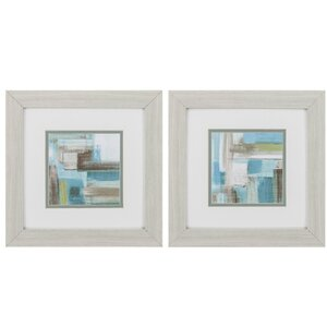Tuscany Revisited 2 Piece Framed Painting Print Set by Propac Images