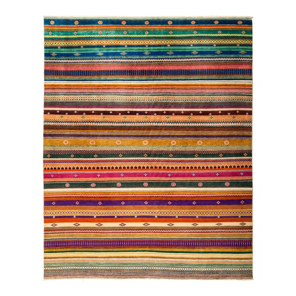 One-of-a-Kind Lori Hand-Knotted Multicolor Area Rug by Darya Rugs