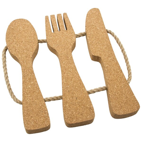 Cork Utensil Trivet by Thirstystone