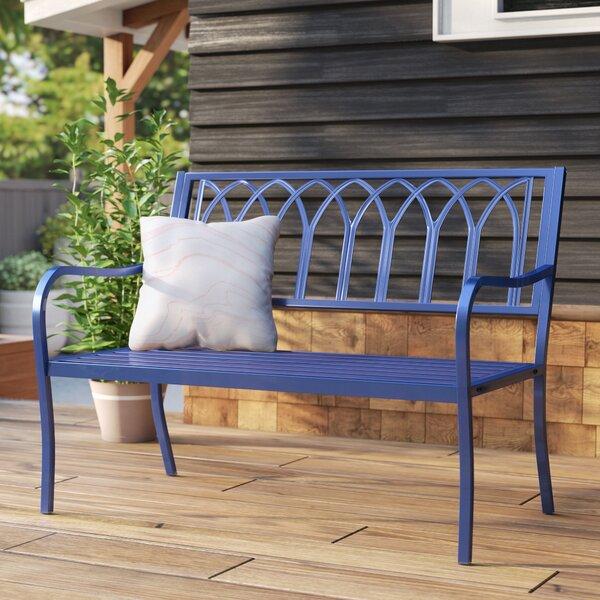 Blankenship Steel Garden Bench by Mistana