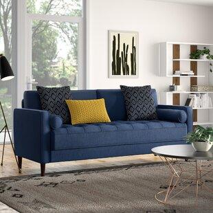 Blue Mid-Century Modern Sofas You\'ll Love | Wayfair
