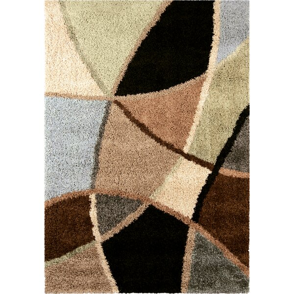 Adele Brown/Green Area Rug by Threadbind