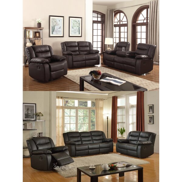 Koury Reclining Configurable Living Room Set by Red Barrel Studio