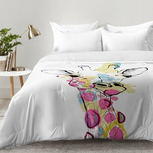 Giraffe Color Comforter Set