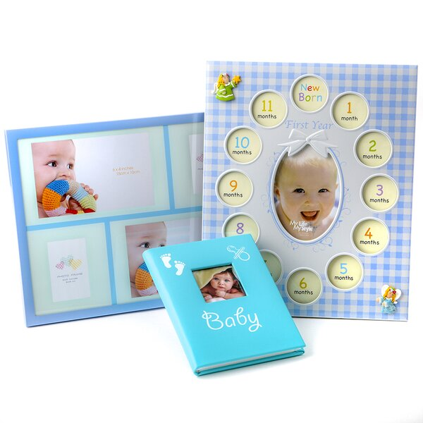 3 Piece Barth Baby Picture Frame Set by Harriet Bee