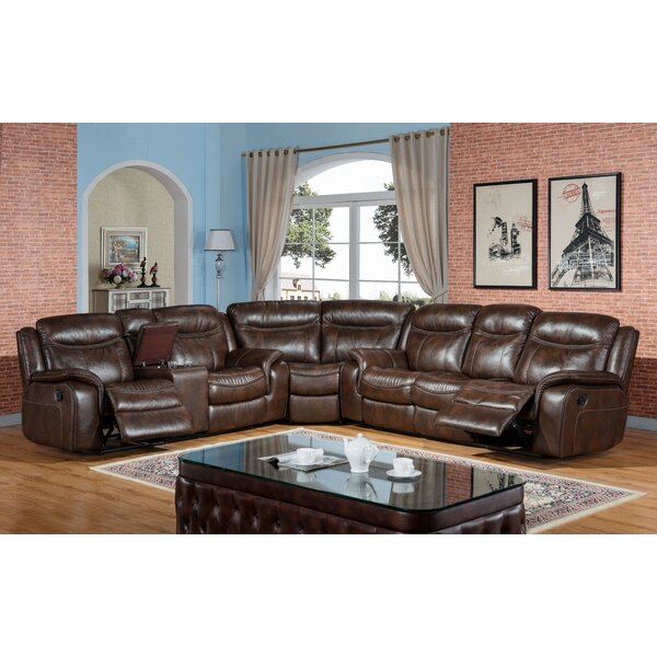 Jodi Reclining Sectional by Darby Home Co