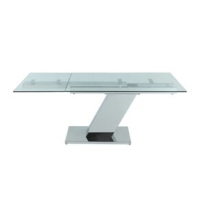 Sleek Extendable Dining Table Part 70