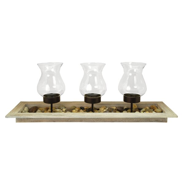 3 Piece Glass Votive Set by Union Rustic