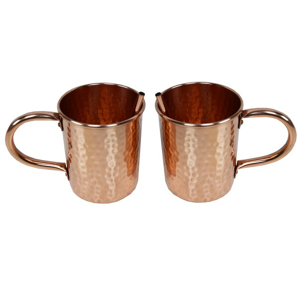Mcentee 16 oz. Mule Mugs (Set of 2) by Ivy Bronx