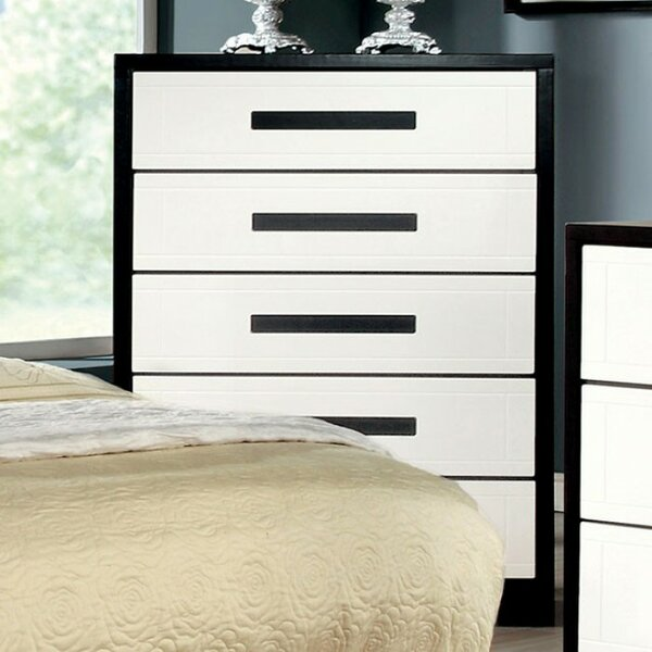 Mokal Wooden 5 Drawer Chest by Latitude Run