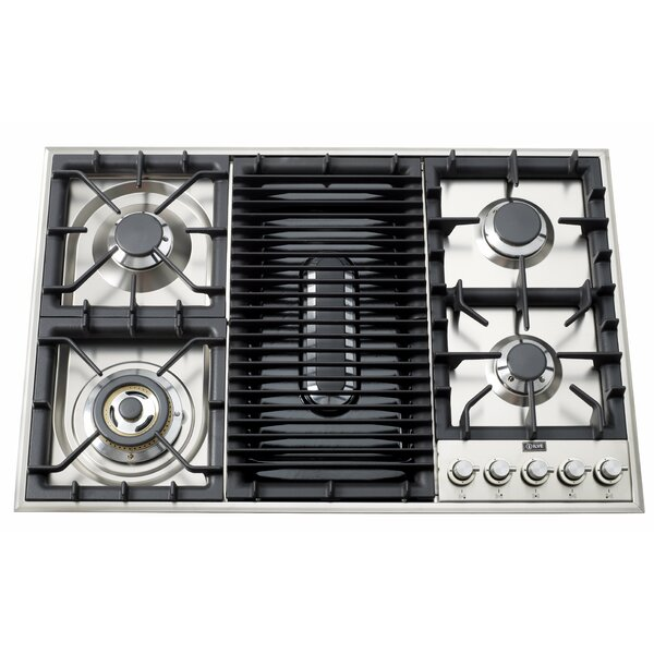 35 Gas Cooktop with 5 Burners by ILVE