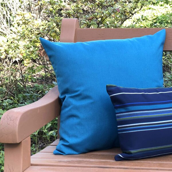 Londyn Outdoor Sunbrella Throw Pillow by Zipcode Design