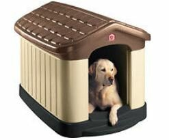 Pet Zone Tuff-N-Rugged Dog House by Pet Zone